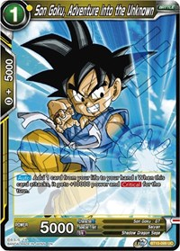 Son Goku, Adventure into the Unknown, Dragon Ball Super CCG, Rise of the Unison Warrior