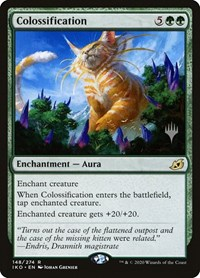 Colossification, Magic: The Gathering, Promo Pack: Ikoria