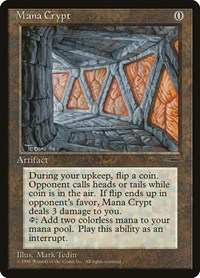Mana Crypt, Magic: The Gathering, Media Promos
