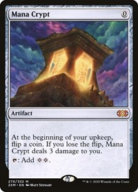 Mana Crypt, Magic, Double Masters