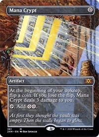 Mana Crypt (Borderless), Magic: The Gathering, Double Masters
