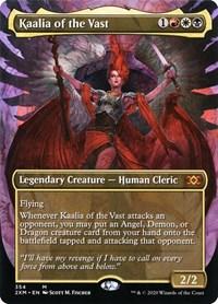 Kaalia of the Vast (Borderless), Magic: The Gathering, Double Masters