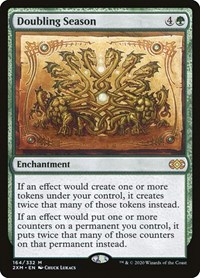 Doubling Season, Magic: The Gathering, Double Masters