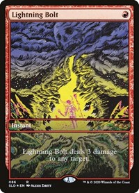 Lightning Bolt (086), Magic: The Gathering, Secret Lair Drop Series