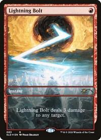 Lightning Bolt (083), Magic: The Gathering, Secret Lair Drop Series