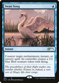 Swan Song, Magic: The Gathering, Secret Lair Drop Series