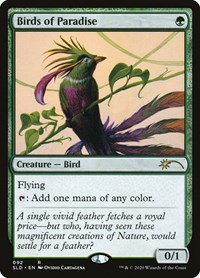 Birds of Paradise, Magic: The Gathering, Secret Lair Drop Series