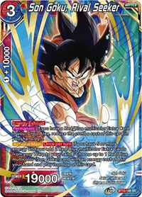 Son Goku, Rival Seeker, Dragon Ball Super CCG, Rise of the Unison Warrior
