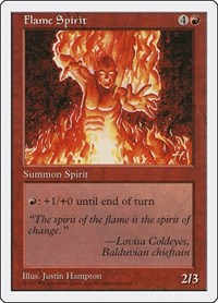 Flame Spirit, Magic: The Gathering, Fifth Edition