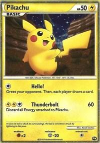Pikachu (English), Pokemon, Pikachu World Collection Promos