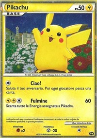 Pikachu (Italian), Pokemon, Pikachu World Collection Promos
