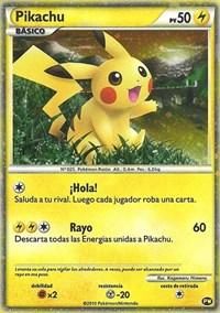 Pikachu (Spanish), Pokemon, Pikachu World Collection Promos