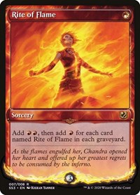 Rite of Flame, Magic: The Gathering, Signature Spellbook: Chandra