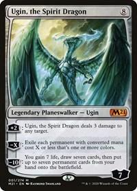 Ugin, the Spirit Dragon, Magic: The Gathering, Core Set 2021