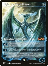 Ugin, the Spirit Dragon (Showcase) (Foil)