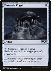 Tormod's Crypt, Magic: The Gathering, Core Set 2021