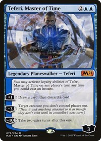 Teferi, Master of Time, Magic: The Gathering, Core Set 2021