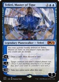 Teferi, Master of Time (275), Magic: The Gathering, Core Set 2021