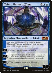 Teferi, Master of Time (Alternate Art) (276)