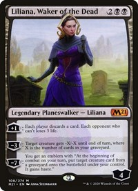 Liliana, Waker of the Dead, Magic: The Gathering, Core Set 2021