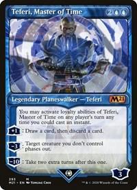 Teferi, Master of Time (Showcase) (293), Magic: The Gathering, Core Set 2021