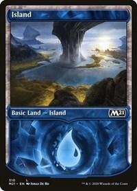 Island (Showcase), Magic: The Gathering, Core Set 2021