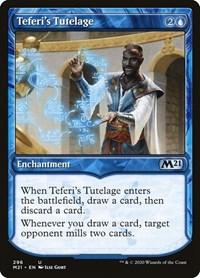 Teferi's Tutelage (Showcase), Magic, Core Set 2021