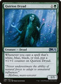 Quirion Dryad, Magic: The Gathering, Core Set 2021