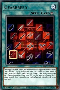 Gearbreed, YuGiOh, Toon Chaos