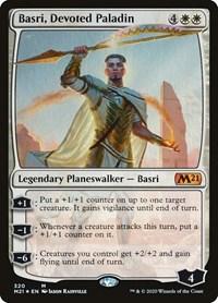 Basri, Devoted Paladin, Magic, Core Set 2021