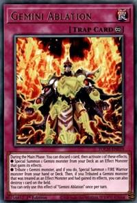 Gemini Ablation, YuGiOh, Toon Chaos