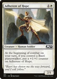 Adherent of Hope, Magic: The Gathering, Core Set 2021