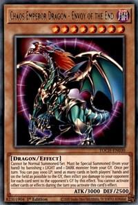 Chaos Emperor Dragon - Envoy of the End, YuGiOh, Toon Chaos