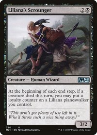 Liliana's Scrounger, Magic: The Gathering, Core Set 2021