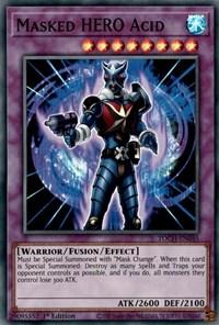 Masked HERO Acid, YuGiOh, Toon Chaos