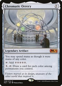 Chromatic Orrery, Magic: The Gathering, Core Set 2021