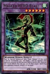 Masked HERO Blast, YuGiOh, Toon Chaos