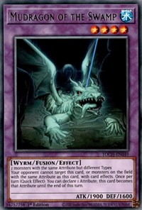 Mudragon of the Swamp, YuGiOh, Toon Chaos