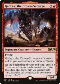 Gadrak, the Crown-Scourge, Magic, Core Set 2021