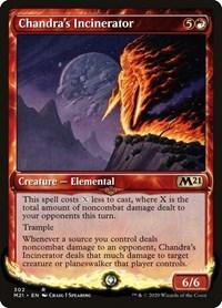Chandra's Incinerator (Showcase), Magic: The Gathering, Core Set 2021