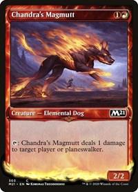 Chandra's Magmutt (Showcase), Magic: The Gathering, Core Set 2021