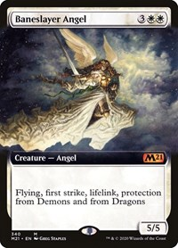 Baneslayer Angel (Extended Art) (Foil)