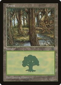 Forest (152), Magic: The Gathering, Portal Second Age