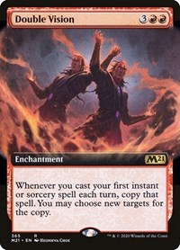 Double Vision (Extended Art), Magic: The Gathering, Core Set 2021