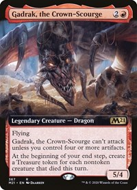 Gadrak, the Crown-Scourge (Extended Art), Magic: The Gathering, Core Set 2021