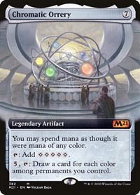 Chromatic Orrery (Extended Art)