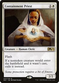 Containment Priest, Magic: The Gathering, Core Set 2021