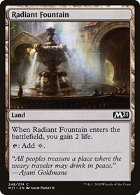Radiant Fountain, Magic: The Gathering, Core Set 2021