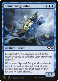 Spined Megalodon, Magic: The Gathering, Core Set 2021