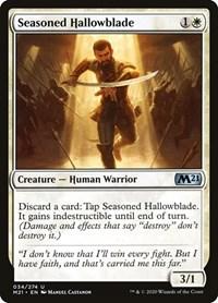 Seasoned Hallowblade, Magic: The Gathering, Core Set 2021